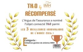 TH2O le boitier connecté d'IMH récompensé